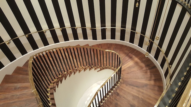 Handrails London Curved Handrail