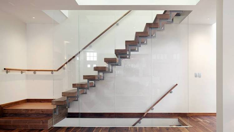 Handrails London Glass & Wooden Handrail