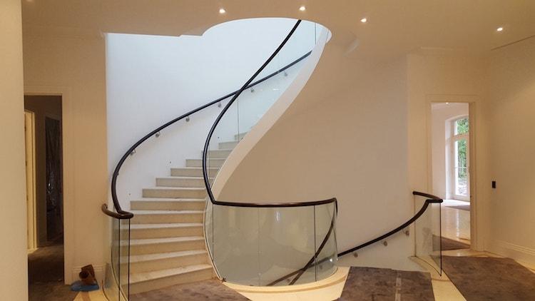 Handrails London Sweeping Handrail