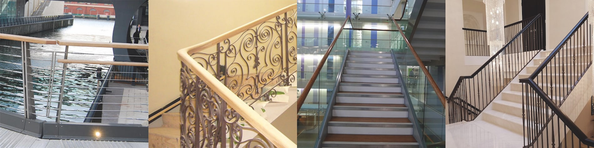 Images of wooden Residential Handrails fitted by our team