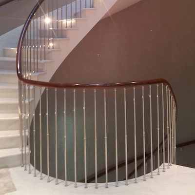 London Handrails - Image of polished handrail