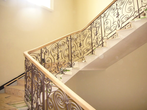 Residential Handrails London - Renovating a handrail