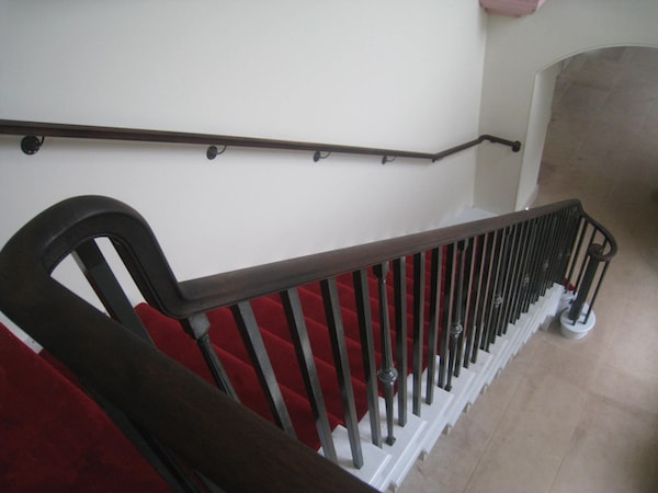 Crafted Handrails London - Image of handrail at Kensington Palace