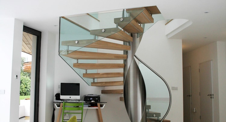 Staircases London - In the living room
